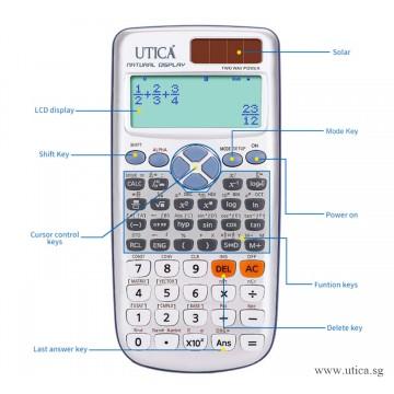 Solar Science Calculator by UTICA®