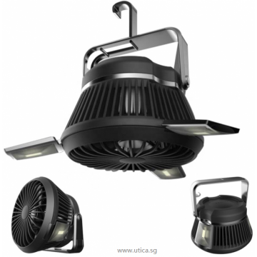 UTICA® Solar Mini Fan