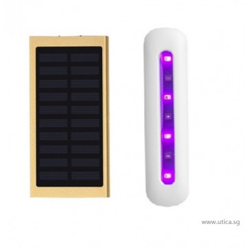 Element 20-GT Solar Powered Charger – 20000mAh with Sterilizer by UTICA®