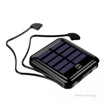 Element 10-BT Solar Powered Charger – 10000mAh by UTICA®