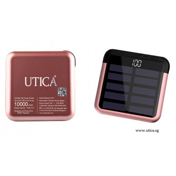 Element 10-PT 2 Solar Powered Charger – 10000mAh by UTICA®