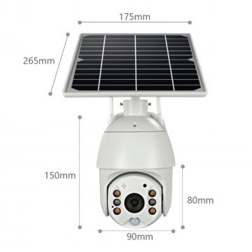 8W Solar Powered Surveillance Camera by UTICA®