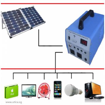 UTICA® Solar Home System 300-60