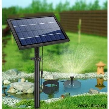 UTICA® Solar Pump Fountain-8W