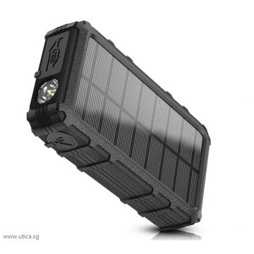 Element 20X Solar Powered Charger – 20000mAh by UTICA®