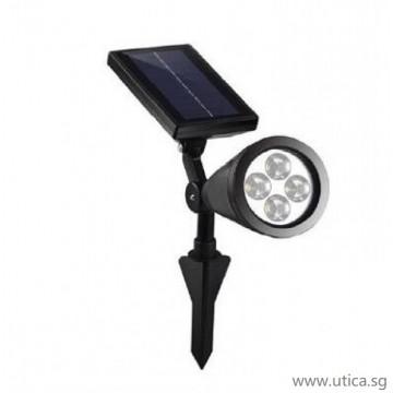 UTICA® Solar Garden Spotlight