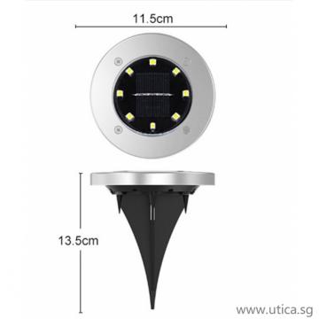 UTICA® Ground Surface Solar Lighting - 4pcs