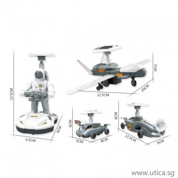 Solar Puzzle Assembly Space Robot Toys by UTICA®